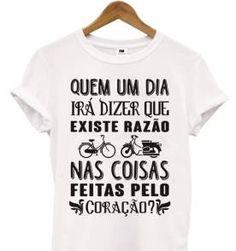 T-Shirt - Eduardo e Mônica - Legião Urbana