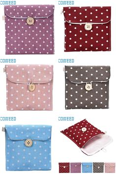 [Visit to Buy] Fashion Heaven 2017 Girl Cotton Diaper Sanitary Napkin Package Bag Storage Organizer wholesale dropshipping 17feb24 #Advertisement
