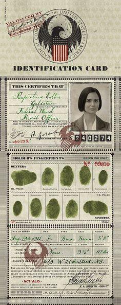 Tina Goldstein's MACUSA ID Card