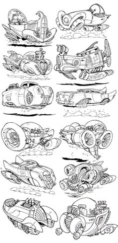 The Etherington Brothers: October 2012 Design, Sketches, Character Design, Car Drawings, Sketch Book, Car Illustration, Design Sketch, Drawing Sketches, Art