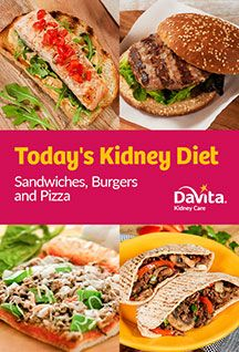 Sandwiches AND burgers AND pizza recipes? Our newest cookbook has it all! Davita Recipes, Kidney Recipes, Diet Recipes, Pizza Recipes, Diabetes Recipes, Recipies, Healthy Kidney Diet, Diet For Kidney Disease, Healthy Kidneys