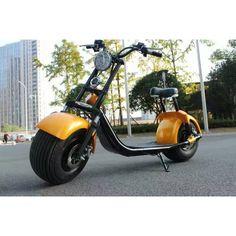 Scooter Harley Elektro Roller 1000w 60v Akku Strassenzulassung Batterie Coco City