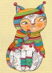 Värikäs kissa  0,85 e