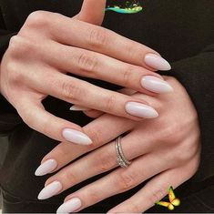 Light nude shared by kolesova_art on We Heart It Image discovered by kolesova_art. Find images and videos about nails, nail art and Nude on We Heart It - the app to get lost in what you love.<br> Hair And Nails, My Nails, Manicure, Wedding Nails For Bride, Fall Wedding, Clean Nails, Garra, Nail Treatment, Almond Nails