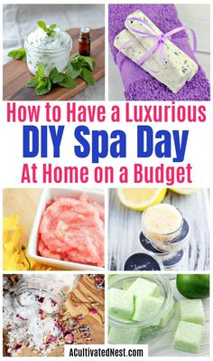 You can have a luxurious DIY spa day at home with these budget-friendly DIY beauty products and beauty ideas! You'll be relaxed in no time! day at home ideas luxury 20 DIY Spa Day At Home Ideas Diy Spa Tag, Diy Beauty, Beauty Ideas, Beauty Secrets, Beauty Hacks, Spa Food, Mobile Spa, Spa Day At Home, Spa Gifts