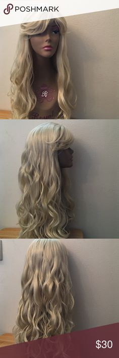 Full Wig Unit Beautiful hair wig unit natural look soft texture color#613.  34 Accessories Hair Accessories