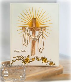 Designz By Gloria  Easter Message  Gloria Plunkett Stampin' Up Christian Card Easter Card