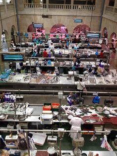 Mercado en Pontevedra