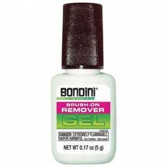 Bondini Brush On Remover Gel Lillie Latorre Watkins Nails Non Color Changing Polish