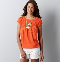 #loft shirt, necklace (already own the shorts!)