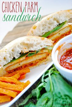 Easy Chicken Parm Sandwich {and learn how to earn for your school with Tyson's Project A+ Program, #shop, #Clip4School}