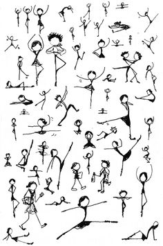 stick figure dancing - Google Search