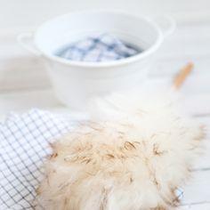 Plumeau, laine mérinos, 52 cm