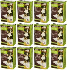 """ClearQuest Max Absorbency Puppy Pads 22"""" x 23"""", 360ct (12 x 30ct)"""