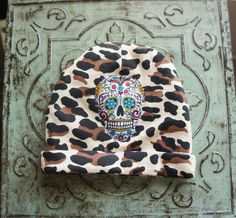 Olivia Paige Leopard Pin up baby flower by OliviaPaigeClothing