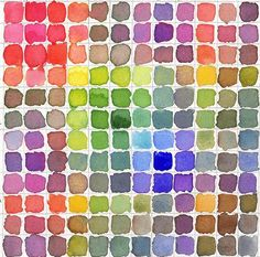Oh, watercolours are the perfect inspiration for colour palettes!