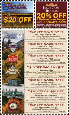 Get discounts on shows, attractions and more in Pigeon Forge and Gatlinburg, TN. Gatlinburg Coupons, All Coupons, Mountain Vacations, Pigeon Forge, Discount Coupons, Cabin Rentals, Mountains, Mom, Bergen