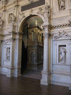 Teatro Olimpico, Stage Set - Palladio