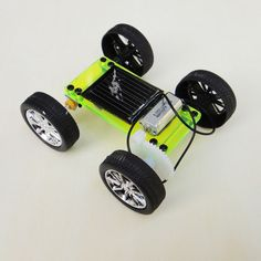 Official iSmaring Solar Toy Educational DIY Car Children Puzzle IQ Gadget Hobby Robot D Type
