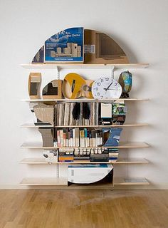 Haha this is an awesome bookshelf!
