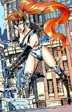 Artemis is the Shim'Tar (greatest warrior) of the Egyptian Amazons of Bana-Mighdall. For a short time, she also held the title of Wonder Woman.