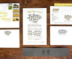 Lindsay + Steve's Hand Lettered Wedding Invitations. This site has tons of fun and creative invitations! Wedding Invitation Inspiration, Invitation Ideas, Invitation Design, Wedding Inspiration, Wedding Ideas, Stationary Design, Wedding Stationary, Engagement Invitations, Wedding Invitations