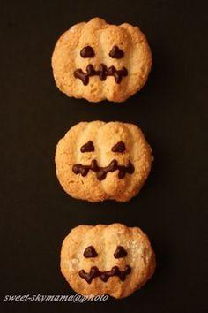 かぼちゃのダックワーズ