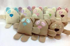 naninhas 3 em 1 - pelúcia baby fun toys - arteira craft
