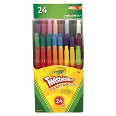 Crayola 24ct Twistable Crayons - Multicolor