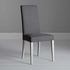 BuyJohn Lewis Alba Lydia Dining Chair, Soft Grey Online at johnlewis.com
