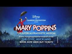 MARY POPPINS Auckland Mary Poppins, Buy Tickets, Auckland, Musicals, Books, Libros, Book, Book Illustrations, Libri