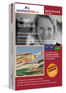 Suaheli lernen: Lernen Sie Suaheli wesentlich schneller als mit herkömmlichen Lernmethoden – und das bei nur ca. 17 Minuten Lernzeit am Tag