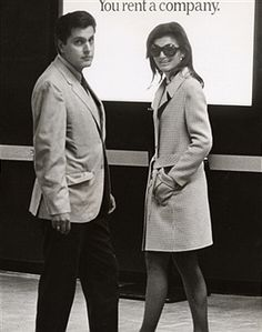 Jackie Kennedy Onassis and Secret Service Agent James Kalafatis