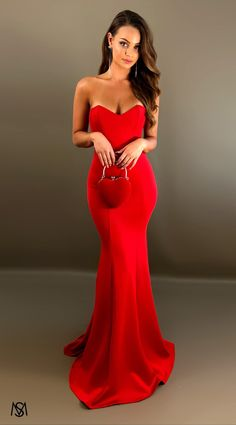 Red III - Formal Prom Dress by STUDIO MINC