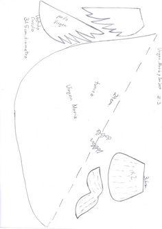 patrones del belen en foami - moldes nacimiento navidad fofuchos (1)