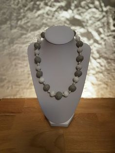 Pearl Necklace, Pearls, Chain, Jewelry, Fashion, Minerals, Silver, String Of Pearls, Moda