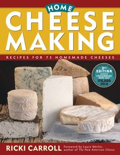 You can easily learn how to make soft cheese at home with just a few pieces of equipment and a little bit of time. Best-selling author Ricki Carroll shows you how to make mascarpone, queso blanco and ricotta!data-pin-do=