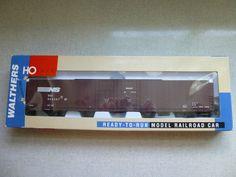 Walthers HO Scale Norfolk Southern Pullman Standard 86' Hi-Cube Box Car w/ Box…