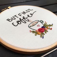 """257 Beğenme, 3 Yorum - Instagram'da @zezehandcraft: """"☕️✌.. . . . . . . . #embroidery #embroider #embroidered #embroideryartist #embroideries…"""""""