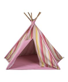 A teepee as a kid would have been pure magic! Is it too late...? ;)