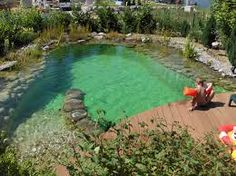 The perfect equipment for your swimming pond # design … – Sport Ideas Pool Spa, Swimming Pool Pond, Natural Swimming Ponds, Natural Pond, Swimming Pool Designs, Pond Design, Dream Pools, Beautiful Pools, Photos Voyages