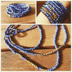 Royal Blue #necklace