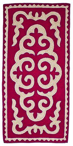 Felt - unique shyrdak felt rugs