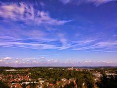 Herrlicher Ausblick über #Iserlohn #Panorama #bluesky #Natur #Wald #Stadt #Sauerland #Stadtwald #nordrheinwestfalen #NRW