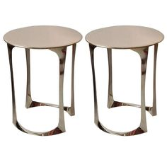 Pair of Side Tables by Anasthasia Millot | http://www.1stdibs.com/furniture/tables/side-tables/