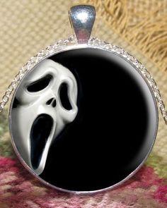 Sream Halloween Pendant Jewelry Halloween.halloween pendants.  #pendant #halloween www.loveitsomuch.com
