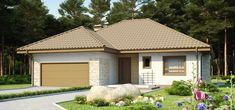 Z19 to wyjątkowy dom z kategorii projekty domów parterowych Gazebo, Shed, Outdoor Structures, Outdoor Decor, Home Decor, Ceiling, Facades, Single Wide, House Beautiful