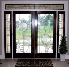 One of our leaded glass designs, Chandler.
