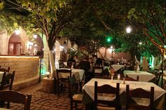 Lemonokipos (Lemon Tree Garden) Taverna, Cafe - Bar, Rethymno Old Town, Crete