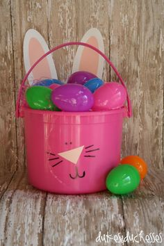 {DIY} How to make an Easter basket ~ Great directions